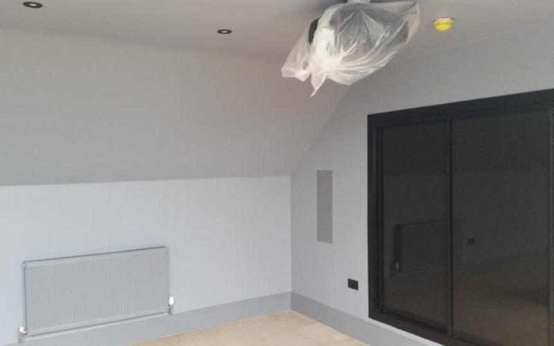 Interior house wall and ceiling spray painter in Carlisle, Cumbria